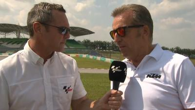 LIVE Join Simon Crafar on Day 2 of the #SepangTest