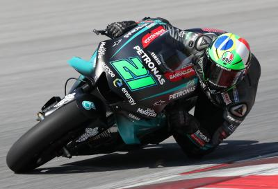 "Morbidelli: ""Work to do"" but ""we're improving"""