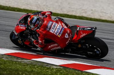 Ducati domination on Day 3: Petrucci, Bagnaia set the pace