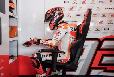 Marquez 'far from 100%' at Sepang Test