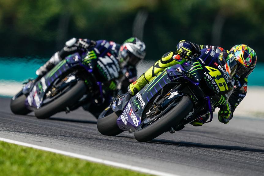 Valentino Rossi, Maverick Viñales, Monster Energy Yamaha Motogp, MotoGP™ Sepang Winter Test