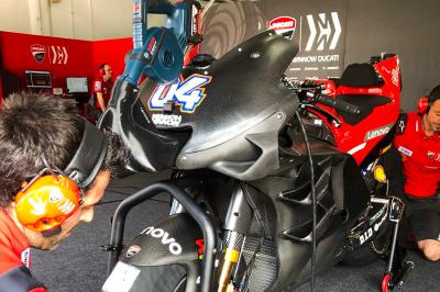 Check out the 2019 Ducati fairing