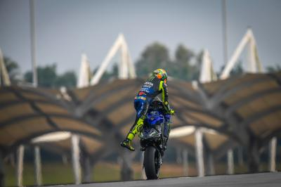 What happened at the Sepang Test?