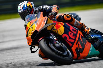 P. Espargaró surpris par le rythme de sa KTM RC16