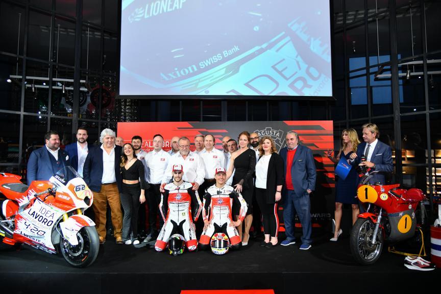 MV Agusta Forward Racing Launch