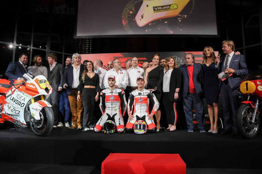 MV Agusta Forward Racing Launch