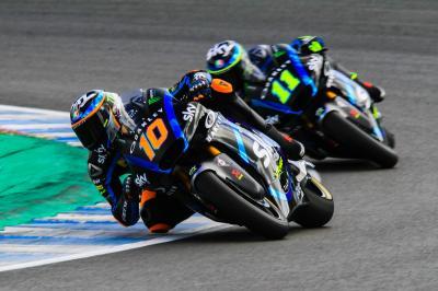 Marini y Rodrigo brillan en el test de Jerez