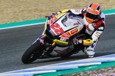 Lowes y Rodrigo, los más rápidos del último día en Jerez