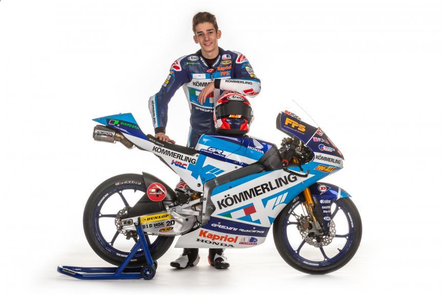 Riccardo Rossi, Kommerling Team Gresini