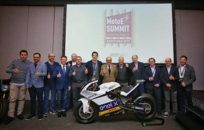 MotoE™ celebra su primera reunión en Barcelona