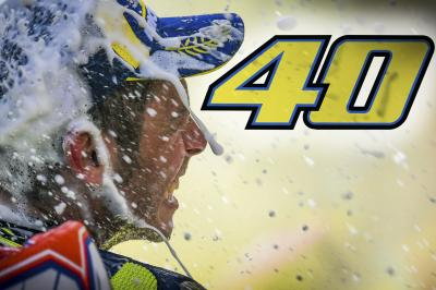 #Rossi40: 23 World Championship seasons in review