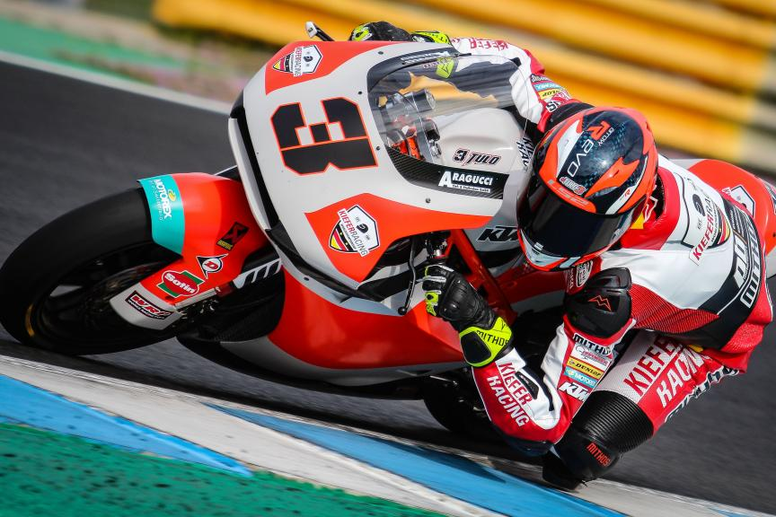 Lukas Tulovic, Kiefer Racing, Jerez Moto2™-Moto3™ Private Test