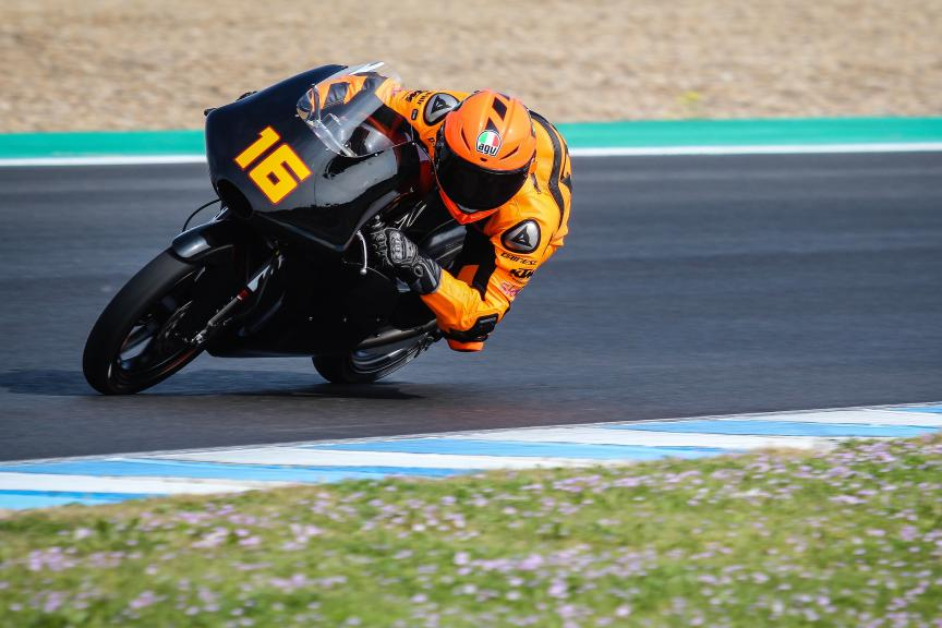 Andrea Migno, Bester Capital Dubai, Jerez Moto2™-Moto3™ Private Test