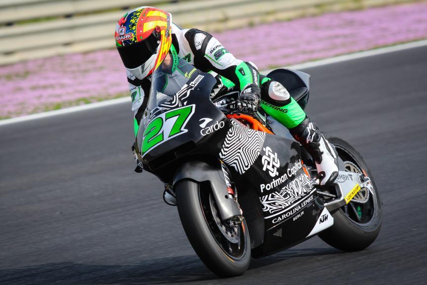 Iker Lecuona, American Team, Jerez Moto2™-Moto3™ Private Test