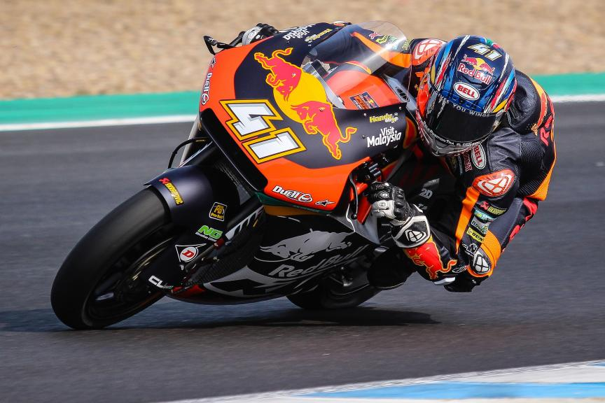 Brad Binder, Red Bull KTM Ajo, Jerez Moto2™-Moto3™ Private Test
