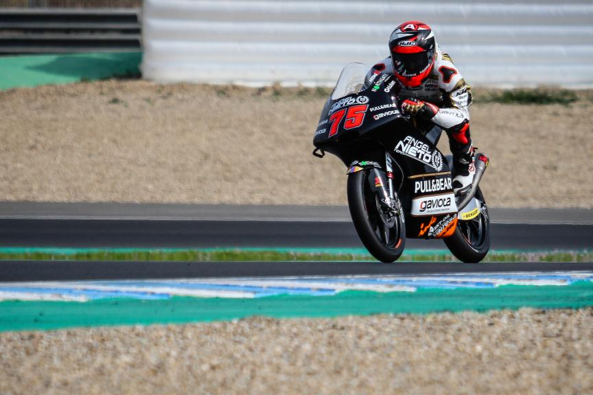 Albert Arenas, Angel Nieto Team, Jerez Moto2™-Moto3™ Private Test