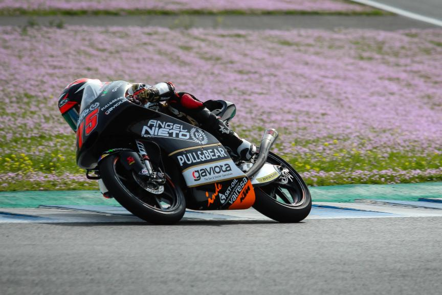 Albert Arenas, Angel Nieto Team, Jerez Moto2™-Moto3™ Private Test