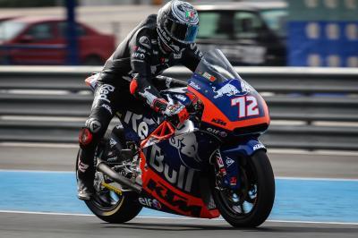 Moto2™ and Moto3™: KTM testing at Jerez