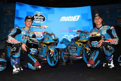 Lopez hopes to make his mark on Moto3™ with EG 0,0 Marc VDS