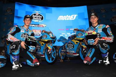 La joven dupla española del Team EG 0,0 Moto3™ apunta alto