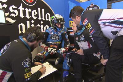 Jerez Test day 1: Top 3 in Moto3™