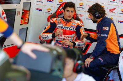 Marquez sui kart, Hamilton commenta