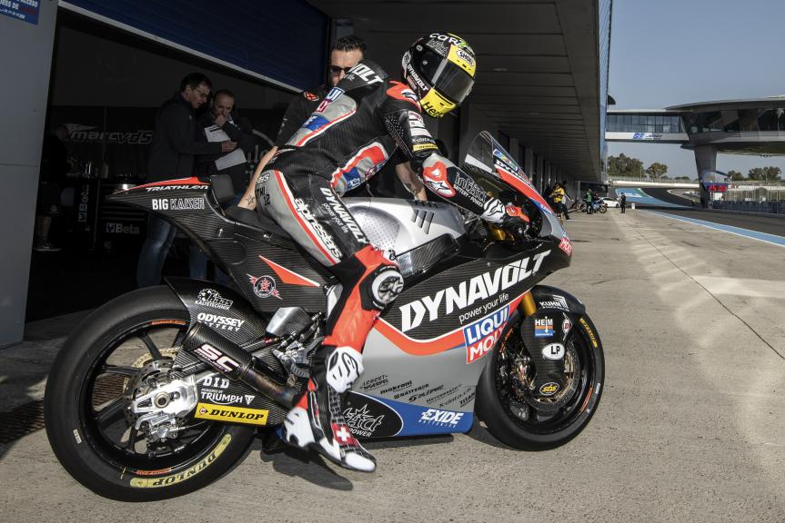 Tom Luthi, Swiss, Intact GP, Jerez Moto2™-Moto3™ Test
