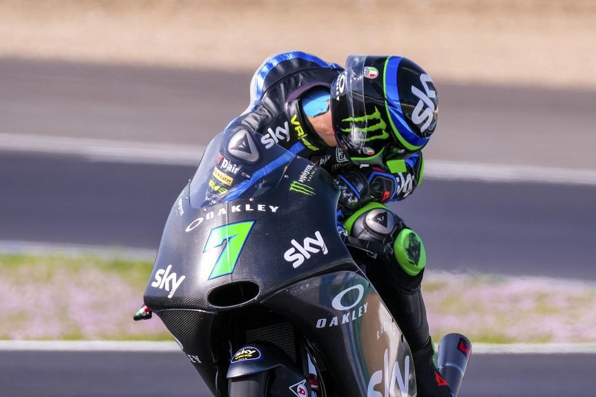 Dennis Foggia, Sky Racing Team VR46, Jerez Moto2™-Moto3™ Test