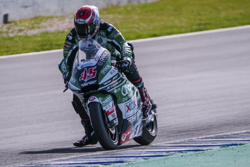 Tetsuta Nagashima, SAG Team, Jerez Moto2™-Moto3™ Test