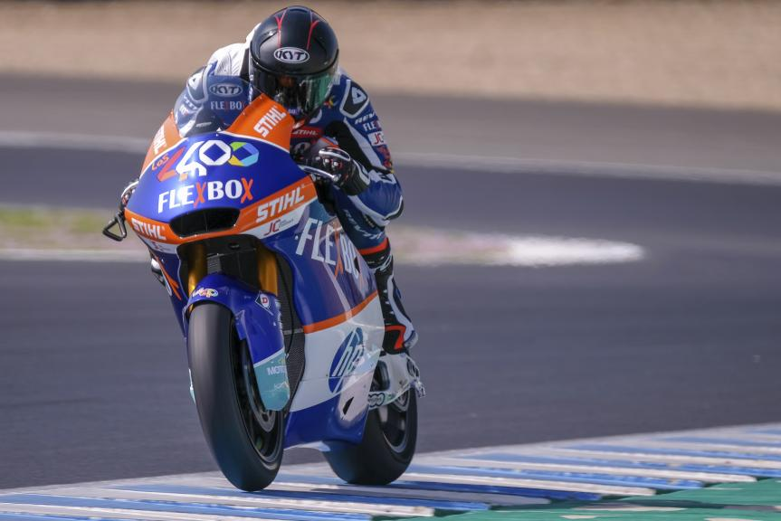 Augusto Fernandez, FlexBox HP 40, Jerez Moto2™-Moto3™ Test