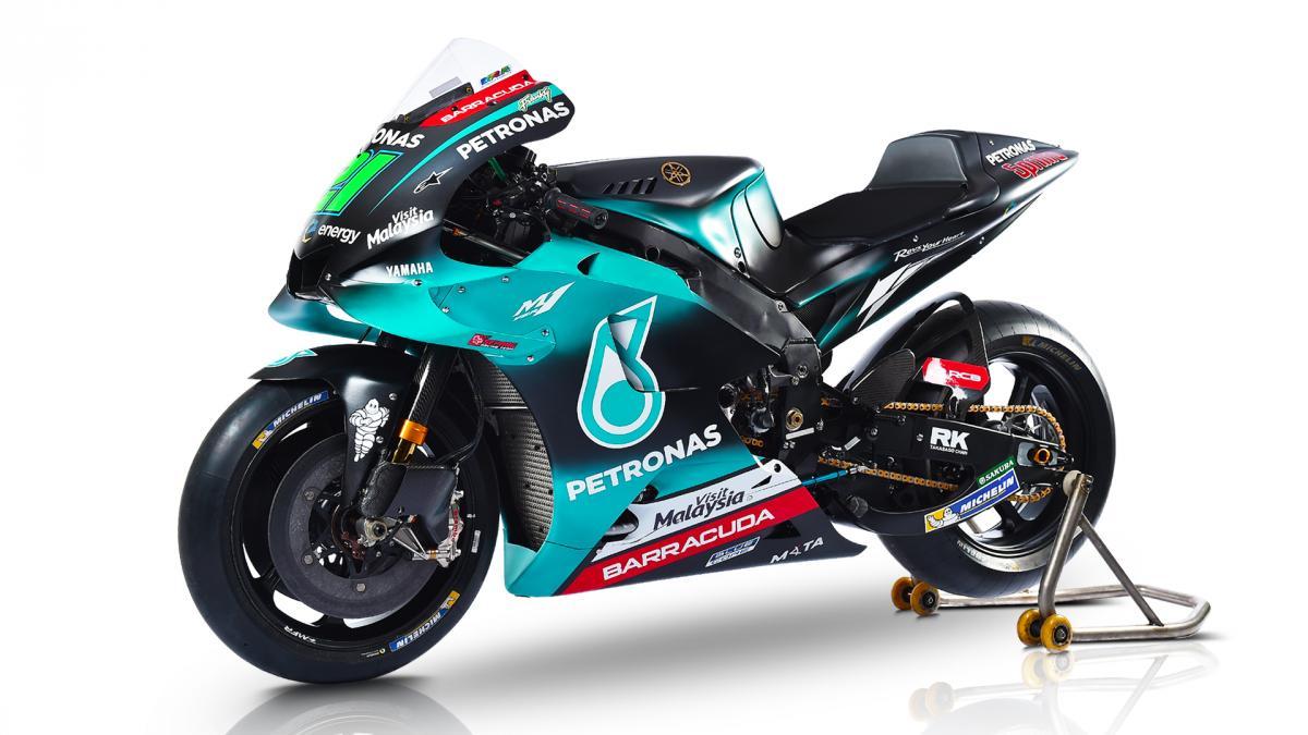 ペトロナス・ヤマハ・SRTのスタジオショット | MotoGP™