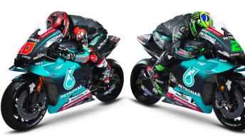PETRONAS Yamaha Racing Team 2019 Photo Shoot
