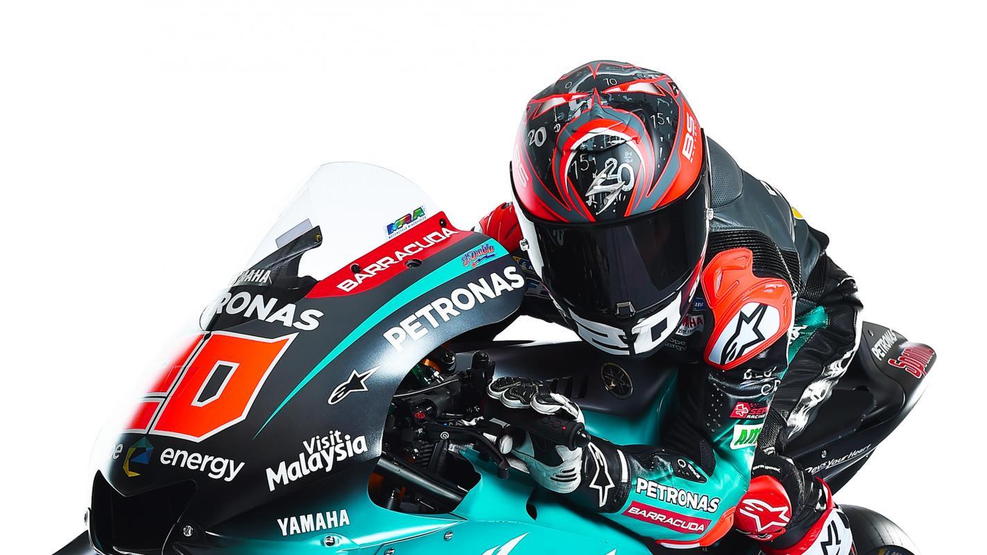 Petronas Yamaha Racing Team 2019 Photo Shoot Motogp