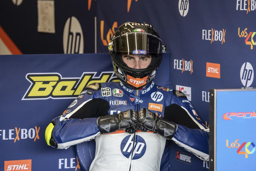 Lorenzo Baldassari, FlexBox HP 40, Jerez Moto2™-Moto3™ Test