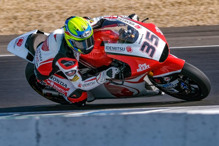 Somkiat Chantra, Idemitsu Honda Team Asia, Jerez Moto2™-Moto3™ Test