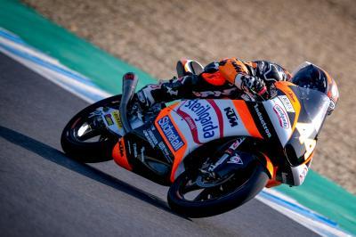 Test Moto3™ de Jerez : Canet domine la deuxième journée