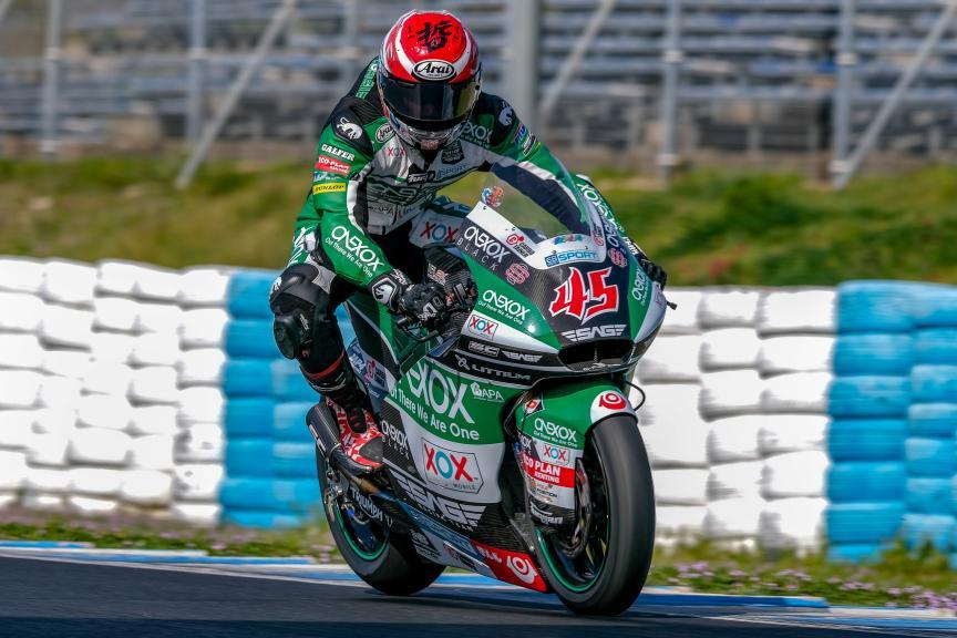 Tetsuta Nagashima, Onexox TKKR SAG Team, Jerez Moto2™-Moto3™ Test