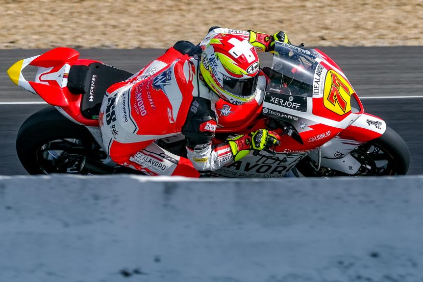Dominique Aegerter, MV Augusta Idealavoro Forward, Jerez Moto2™-Moto3™ Test
