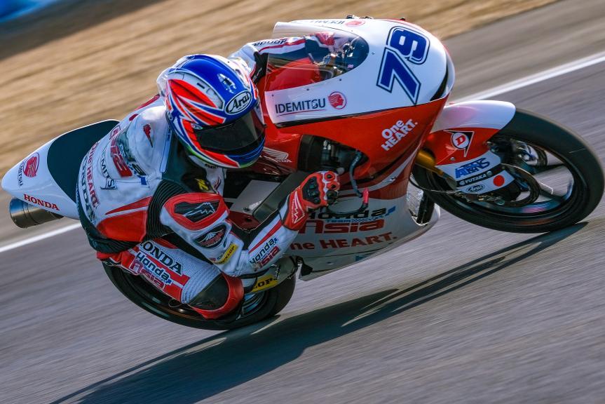 Ai Ogura, Honda Team Asia, Jerez Moto2™-Moto3™ Test
