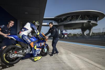 Las imágenes de la primera jornada del test de Jerez