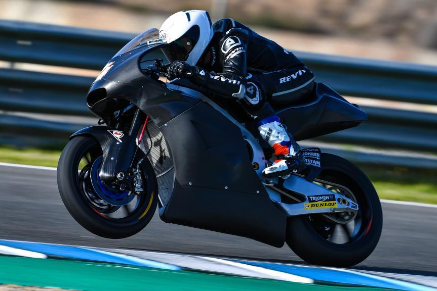 Steven Odendaal, NTS RW Racing GP, Jerez Moto2™-Moto3™ Test