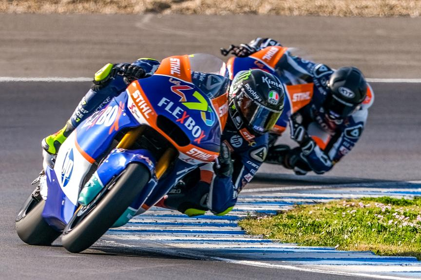 Lorenzo Baldassari, Flex-Box HP40, Jerez Moto2™-Moto3™ Test