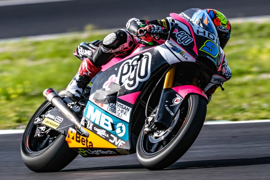 Jorge Navarro, +Ego Speed Up, Jerez Moto2™-Moto3™ Test
