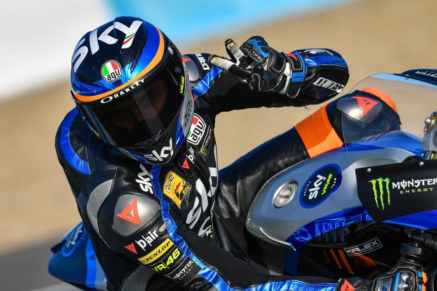 Luca Marini, Sky Racing Team VR46, Jerez Moto2™-Moto3™ Test