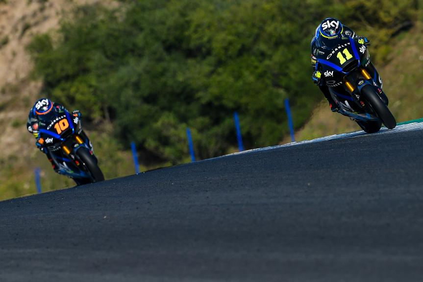 Nicolo Bulega, Sky Racing Team VR46, Jerez Moto2™-Moto3™ Test
