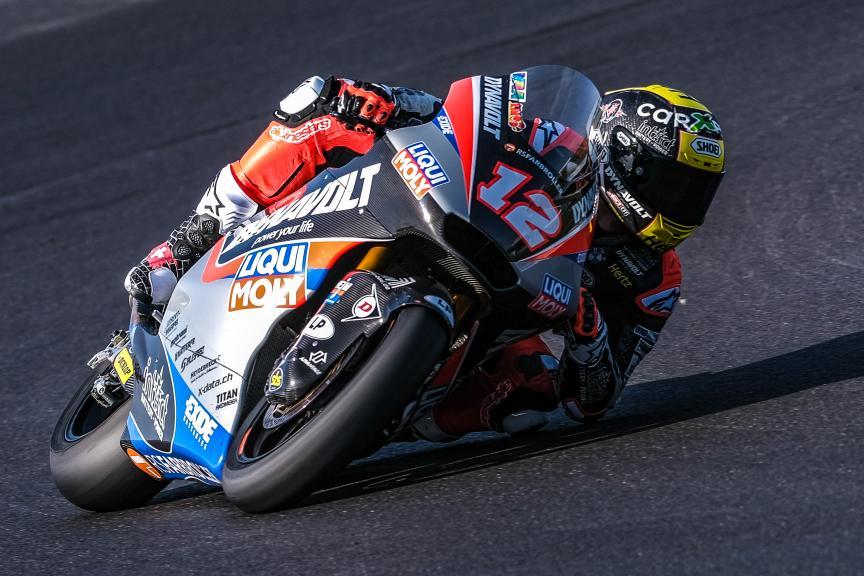 Tom Luthi, Dynavolt Intact GP, Jerez Moto2™-Moto3™ Test