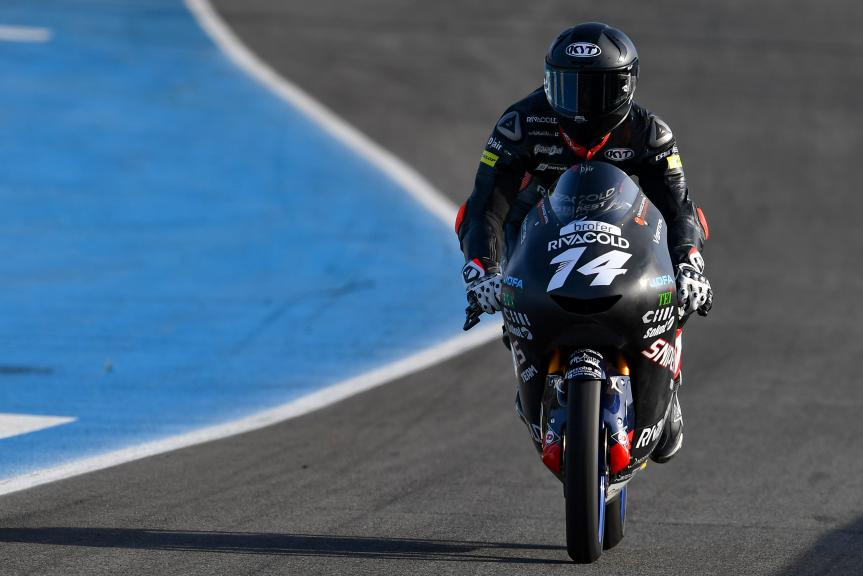 Tony Arbolino, Snipers Team, Jerez Moto2™-Moto3™ Test