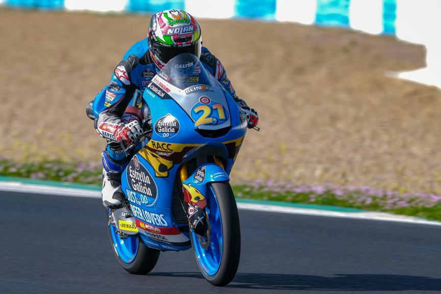 Alonso Lopez, Estrella Galicia 0,0, Jerez Moto2™-Moto3™ Test
