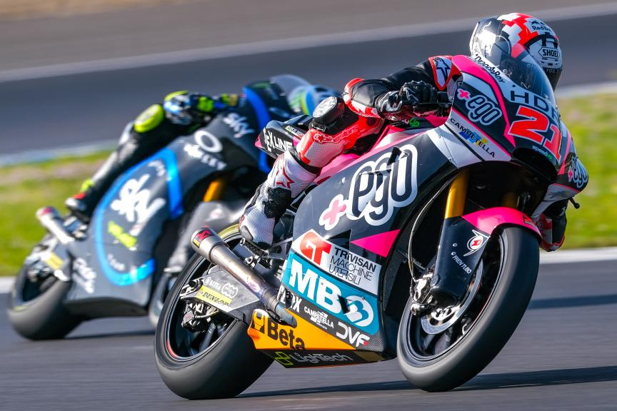 Fabio Di Giannantonio, +Ego Speed Up, Jerez Moto2™-Moto3™ Test