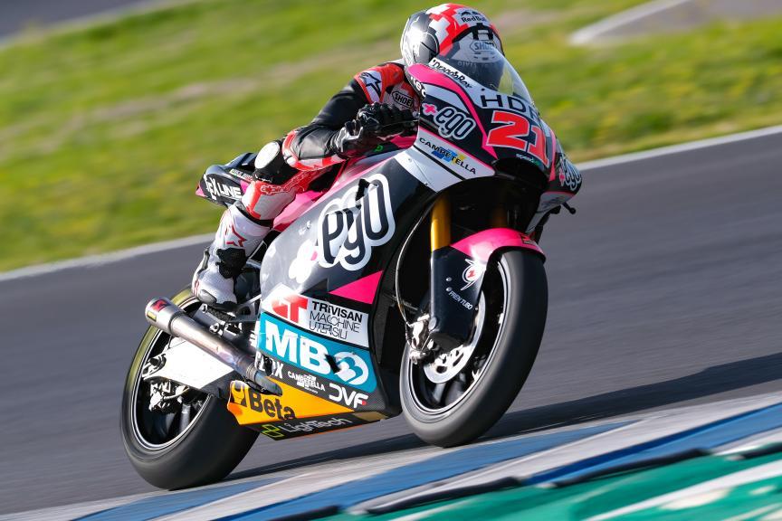 Fabio Di Giannantonio, +Ego Speed Up, Jerez Moto2™-Moto3™ Test